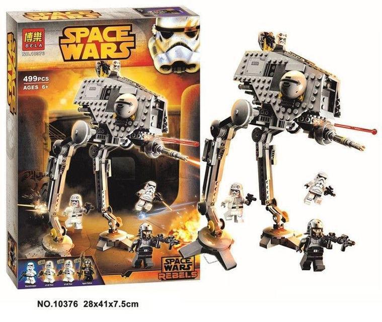 """Конструктор Bela Space Wars 10376 """"Вездеходная оборонительная платформа"""" 499 деталей (аналог Lego Star Wars)"""