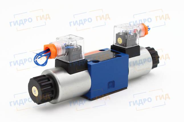 Гидрораспределитель с электромагнитным управлением ВЕ 6 (WE6, РЕ6, ПЕ6) Двухмагнитный, фото 2