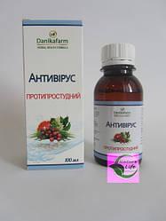 Противопростудный препарат БАЖ «Антивирус - противопростудные», 100 мл- при ОРЗ, ОРВИ, гриппе