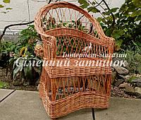 Кресло плетеное на балкон, фото 1