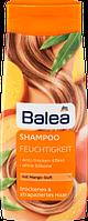 Шампунь DM Balea Feuchtigkeit (для сухих поврежденных волос, манго) 300 мл.