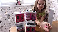 Модная кукольная кухня с продуктами и звук-/свет- эффектами QF26210MH Monster High