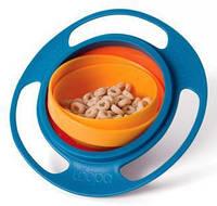 "Глубокая детская тарелка-непроливайка ""Universal Gyro Bowl"""