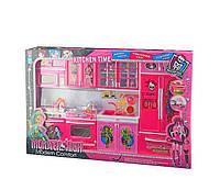 Кукольная кухня с продуктами и звук-/свет- эффектами QF26210MH Monster High