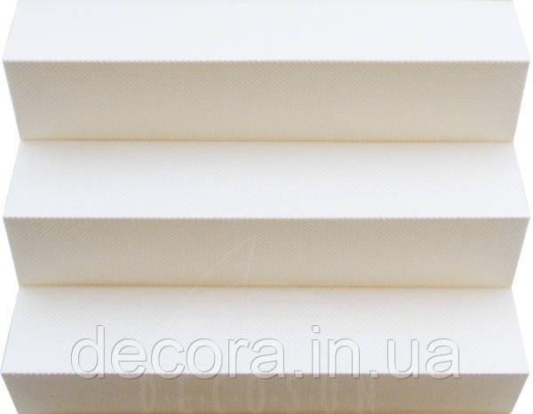 Штора плісе Lumiere 01 White