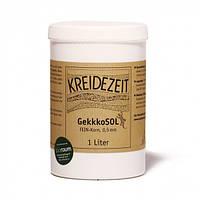 Натуральная  грунт-краска для стен и потолков  GekkkoSOL FEIN-Korn 0,5 mm   1 л