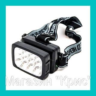 Налобный светодиодный фонарик WIMPEX WX 1837