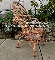 Кресло балконное плетеное
