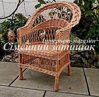 Кресло плетеное обеденное, фото 1