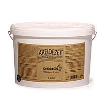Натуральная  грунт-краска для стен и потолков  GekkkoSOL FEIN-Korn 0,5 mm   5 л