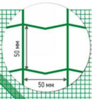 Системи огорож з зварної рулонної сітки 1.5м 50х100мм, фото 1
