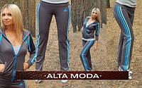 Спортивные штаны  Adidas ластик 3 цвета