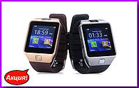 Часы Smart DZ09,умные часы с камерой,Современные умные часы-телефон!Акция