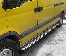 Подножки на Nissan Interstar (1998-2010) Ниссан Интерстар