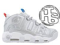 Женские кроссовки Nike Air More Uptempo Silver