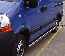 Подножки, Трубы на Nissan Interstar (1998-2010) Ниссан Интерстар