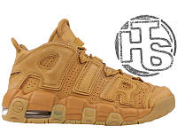 Женские кроссовки Nike Air More Uptempo SE (GS) Flax/Flax-Gum Light Brown 922845-200