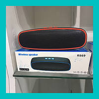 Портативная Bluetooth колонка K669