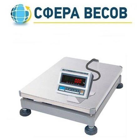 Весы электронные напольные CAS DB II-60E (30/60 кг), фото 2