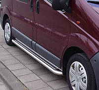 Подножки на Opel Vivaro (с 2001---) Опель Виваро 42 мм, Длинная