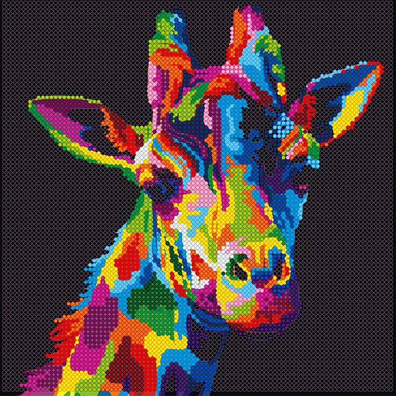 Радужные животные СХЕМЫ 20 фотографий схема вышивки 56
