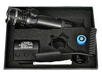 Лазерный целеуказатель laser scope, зелёный луч, моноблок weaver, кронштейн для установки оп