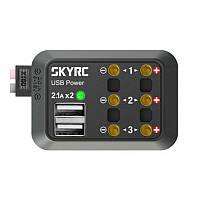 Распределительный щит питания SkyRC («Плата распределителя питания постоянного тока¶Кабель постоянного тока (гнездовой разъем Banana amp; XT60)) (код