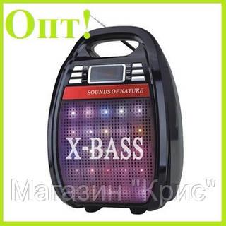 Радио-колонка RX 810 BT с микрофоном и светомузыкой bluetooth!Опт