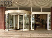 Автоматические карусельные двери KA023 на три створки, d=1800мм, фото 3