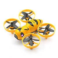 Квадрокоптер мини р/у Eachine Fatbee FB90 с камерой FPV 5.8GHz (BNF FlySky) + сертификат на 150 грн в подарок (код 191-495025)