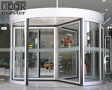 Автоматические вращающиеся двери KA023 на три створки, d=2700мм, фото 2