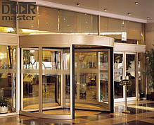 Автоматические карусельные двери KA023 на три створки, d=2100мм, фото 3