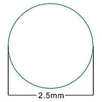 Гарантийная пломба пустая на болты 2,5 мм