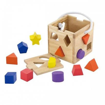 Сортер Кубик Viga Toys (53659), фото 2