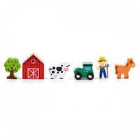 Ферма, аксессуары к железной дороге Viga Toys (50812)