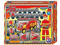 Конструктор металлический Пожарная техника 2056 ТехноК, фото 1