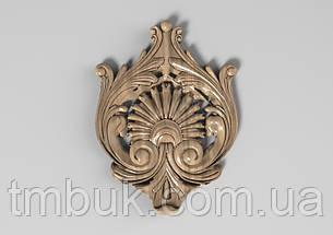 Центральный резной декор 50 - 100х135 мм, фото 2