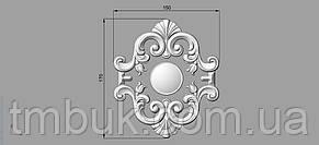 Центральный резной декор 54 - 150х170 мм, фото 2