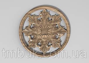 Центральный резной декор 64 - 150х150 мм, фото 2