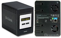 "БУ Сервер NAS D-Link DNS-343, 4х3.5"" HDD SATA, 1xGbit Ethrnet, 1xUSB (DNS-343)"