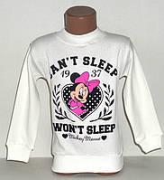"Кофта на девочку ""Can't sleep"" 4,5 лет"