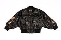Кожаная куртка для девочек