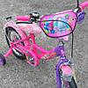 Детский велосипед для девочки 14 дюймов