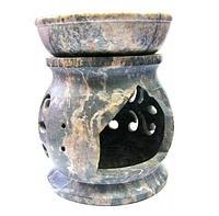 Аромалампа из мыльного камня (7,5х6х6 см)