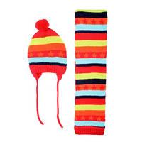 Детский Комплект: шапка, шарф