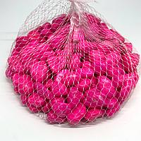 Камушки декоративные. Цвет розовый. 0.5кг