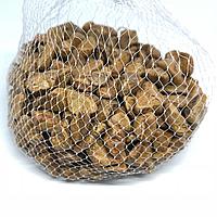 Камушки декоративные. Цвет каричневый. 0.5кг