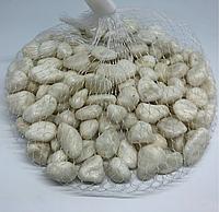 Камушки декоративные. Цвет белый. 0.5кг