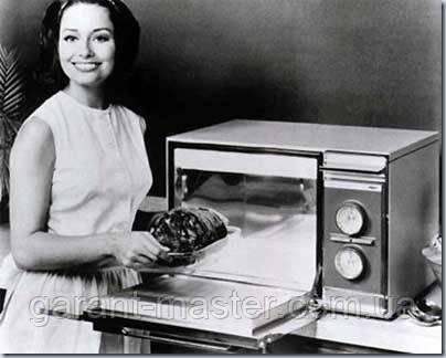 История микроволновой печи