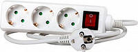 Удлинитель e.es.4.5.z.s.b 4 гнезда, 5м с з/к выключателем, baby protect